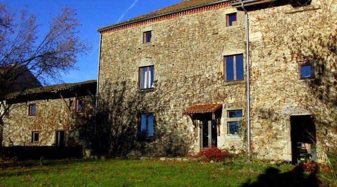 L'ancien Relais de Poste in Saint Dier d'Auvergne